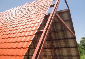 پوشش سقف شیبدار آکروتایل