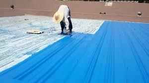 آب بندی پشت بام با فایبرگلاس